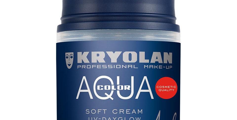 KRYOLAN Aquacolor UV Dayglow Soft Cream
