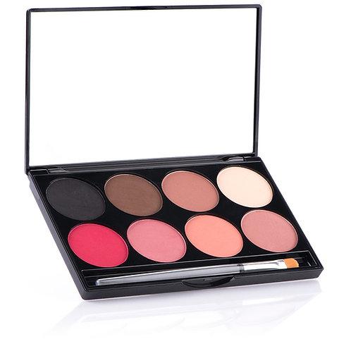 MEHRON E.Y.E & CHEEK Powder 8-color Palette