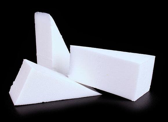 MEHRON Non LAtex Triangular Foam Wedges