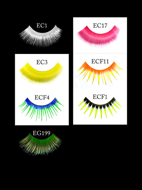 UV Glow Eyelashes