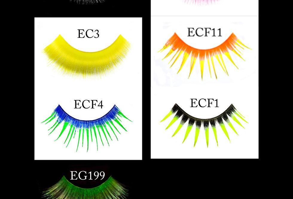 UV Glow Eyelashes