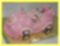 торт машинка мышка