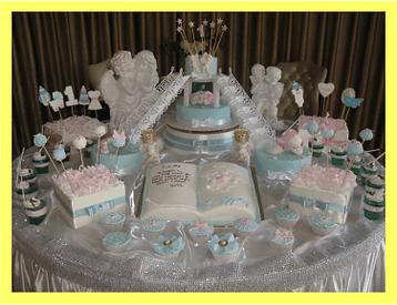торт крещение