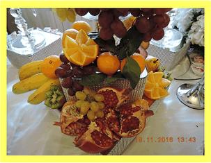 фрукты фуршет