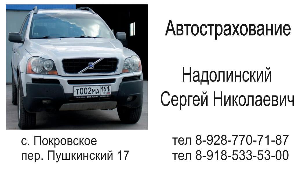 СЦ Заправкино Сергей Надолинский