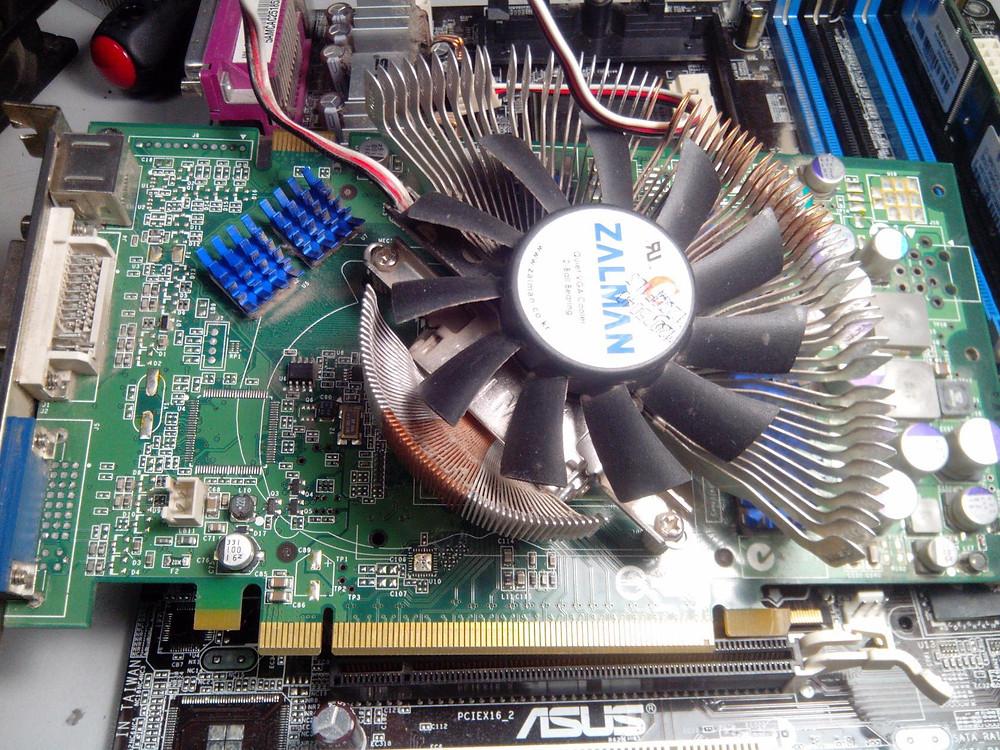 Видеокарта nvidia 6800 zalman