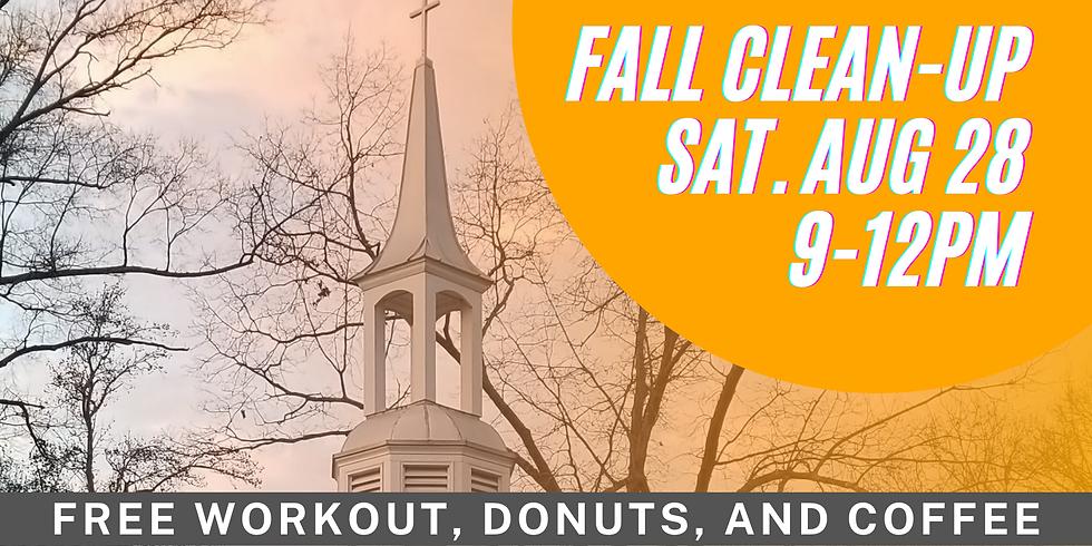 Fall Church Clean-Up
