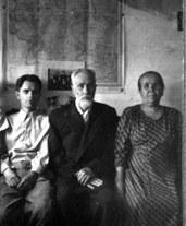 Поездка на родину, C отцом и сестрой, г. Касли, 1953 г.