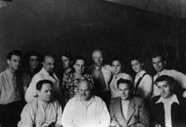 Аспиранты сектора, 1949 г.