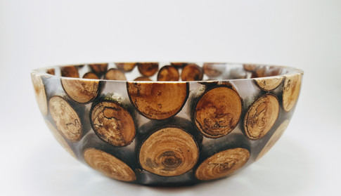 Spalted Birch Limb Bowl