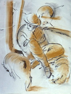 Shepherd – Rough Sketch