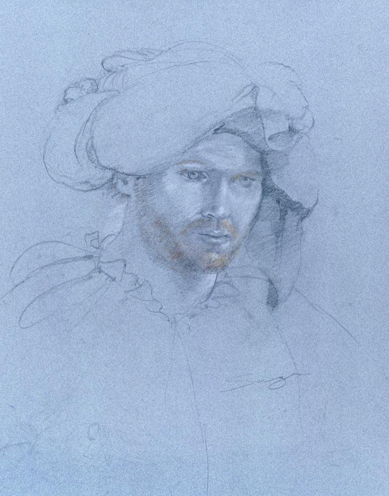 Portrait of Shakespearean Actor
