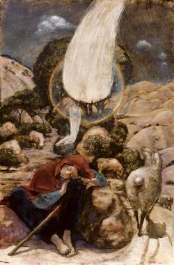 Shepherd Boy with Angel