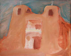 New Mexico Adobe Church