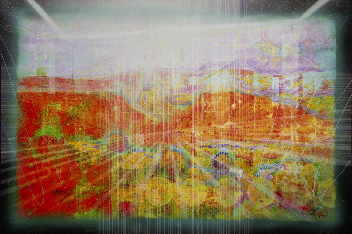San Ildefonso Pueblo VII - Dimension