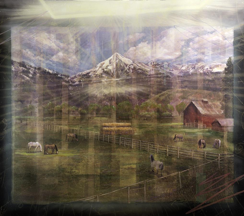Barn, Jackson Hole, Wyoming
