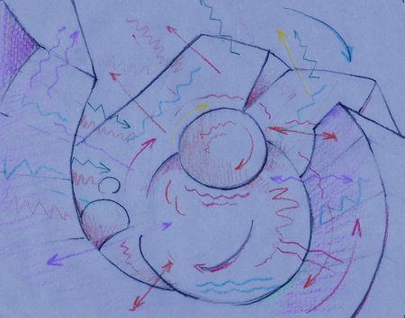 Artist in Landscape Diagram Flat Large.j