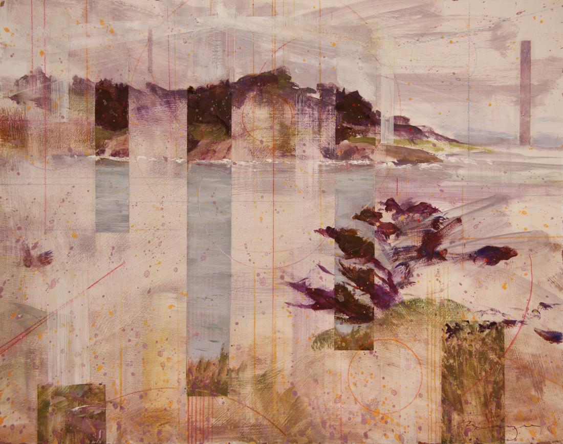Mendocino Cove Plein-Air Study