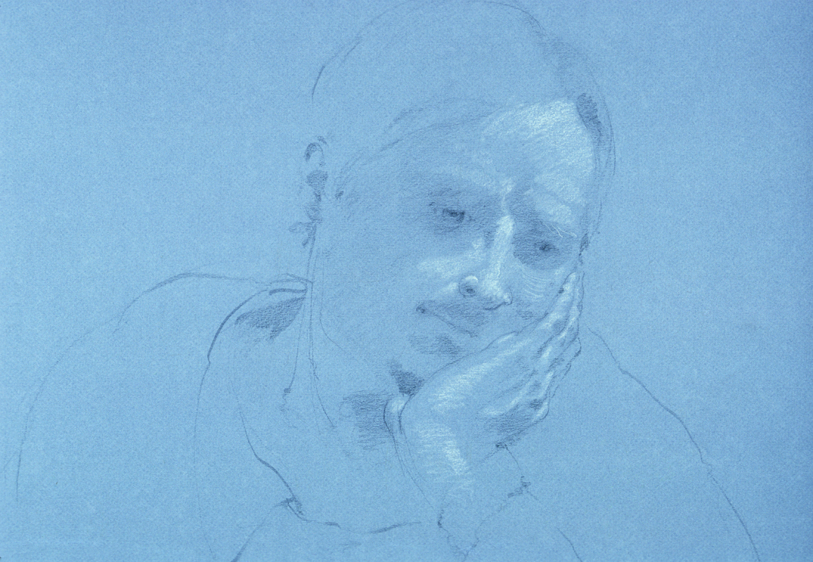 Quick Sketch of Friend Contemplating