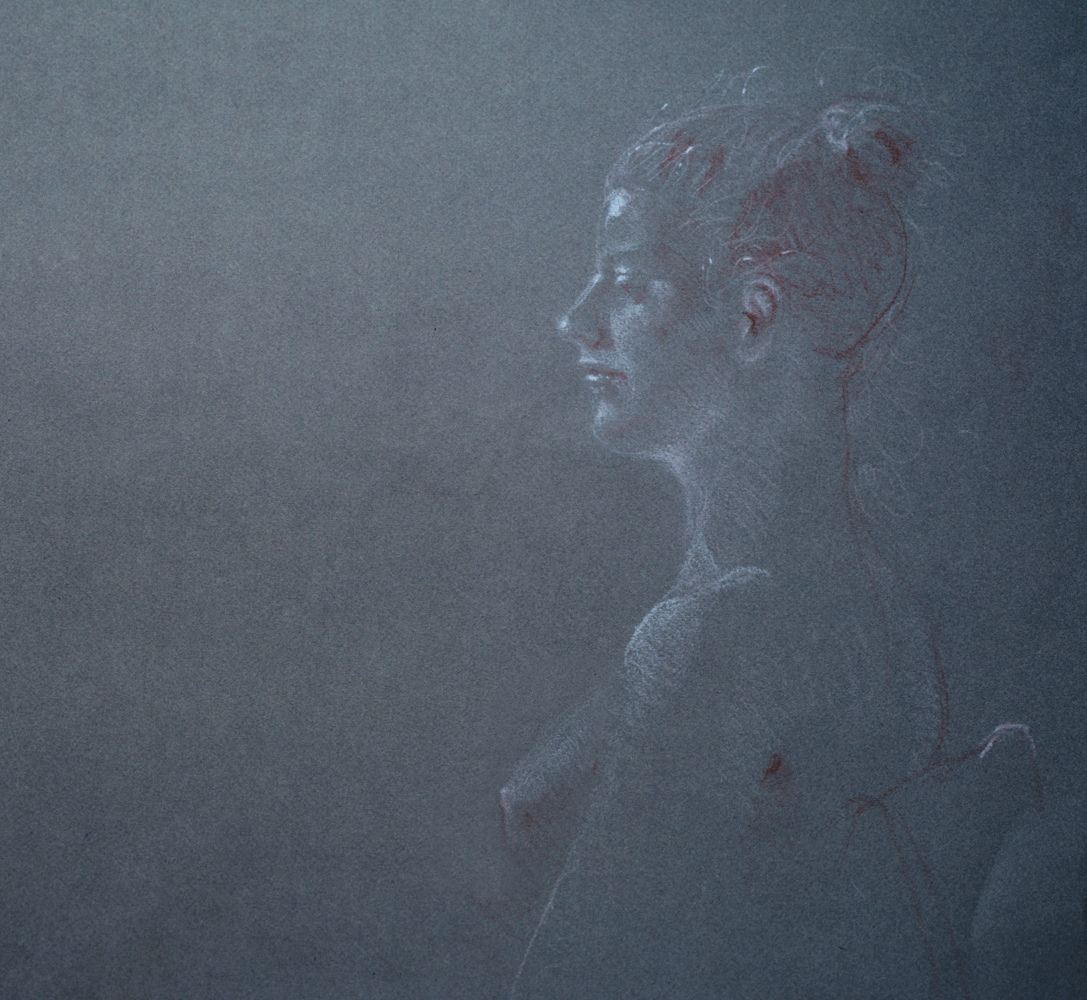 Portrait of Female Friend- Profile