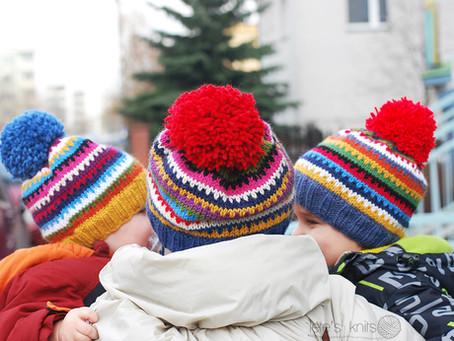 Skrappy Ski Hat - a free pattern