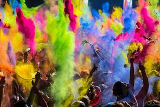 Холи — праздник красок и прихода весны