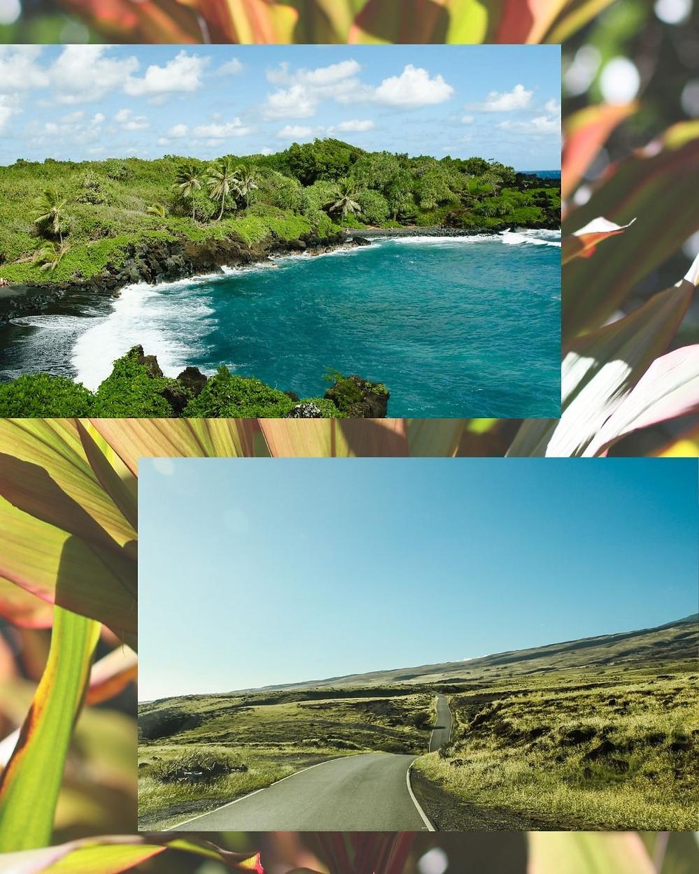 マウイ島旅行、おススメ観光スポット、ブラックサンドビーチ