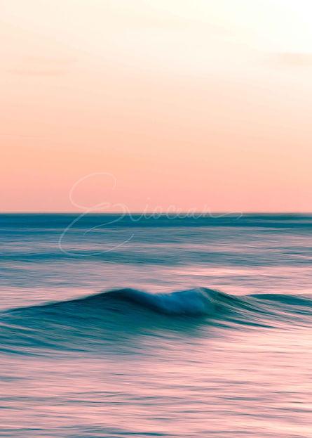 Hawaii Pink Sunset, Pink Sunset, Surf Photography, Hawaii Photo Print, Wall Decor, Wall Art Print, Surf Decor, Waikiki Sunset