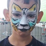 Tigre multicolor