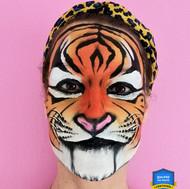 Tigre Réaliste Face