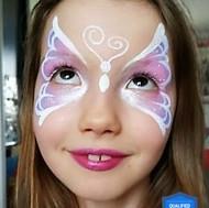 Masque Papillon mauve