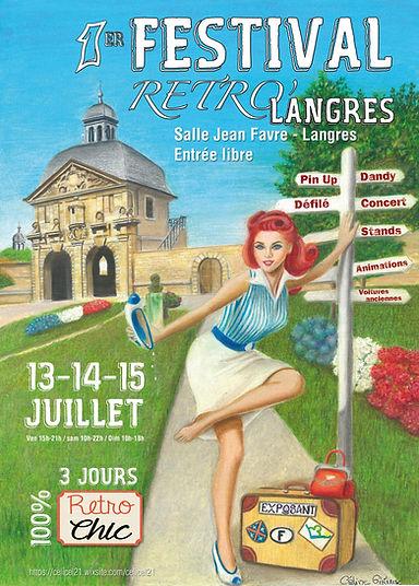 Affiche du festival de Langres 13 14 15