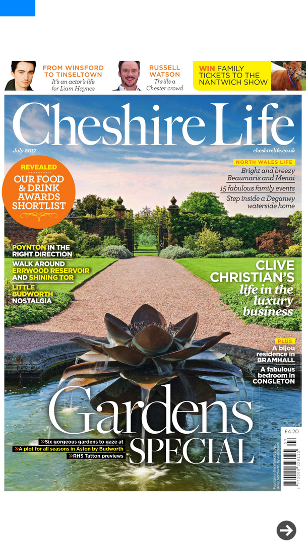 Cheshire Life Feature
