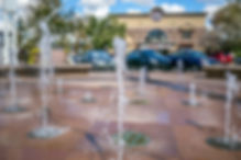 Downtown Gilbert Waterfountain near Arizona Restorative psychiatry