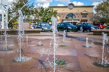 Downtown Gilbert Waterfountain near Arizona Restorative psychiatry