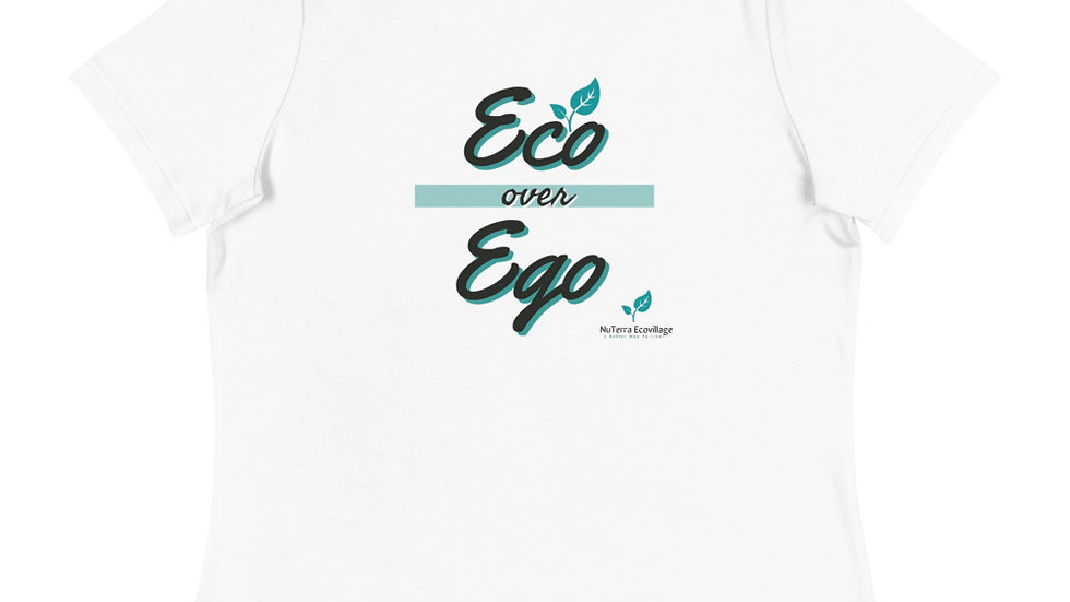 EOO over EGO Women's Relaxed T-Shirt