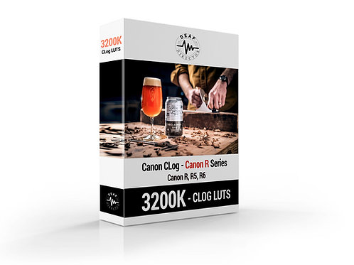 Canon R5/R6 - CLOG - 3200K LUT PACKAGE - Download