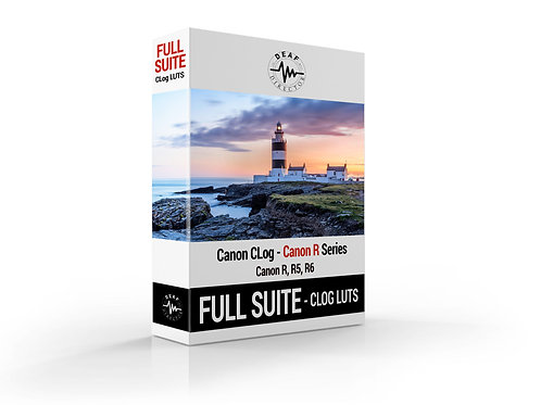 Canon R5/R6 - CLOG LUTS - FULL SUITE - LUT PACKAGE