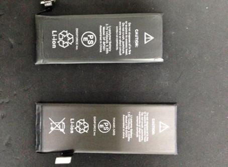 再:iPhone(アイフォン)バッテリーについて