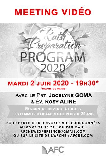 Meeting vidéo RPP, Mardi 02 Juin 2020