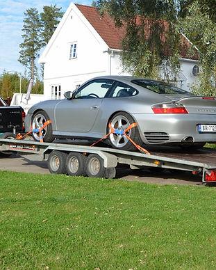 Brian James XL 3500KG bilhenger -utleie.