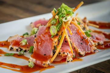 Tuna Sashimi in the Catskills