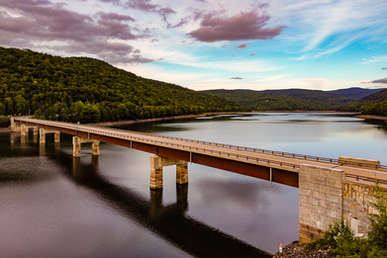 Shavertown Bridge in Andes New York