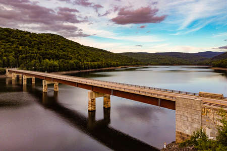 Shavertown Bridge in Andes New York