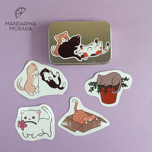 Cat Sticker Set