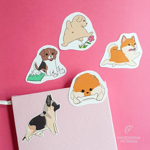 Doggos sticker set