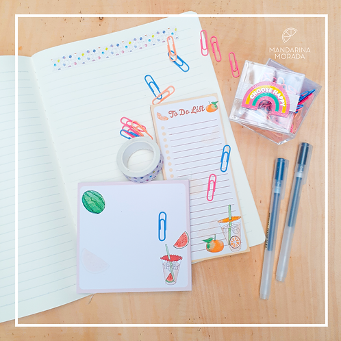 Fruity note pads
