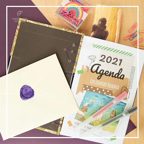 2021 Planner (stitched-spanish only)
