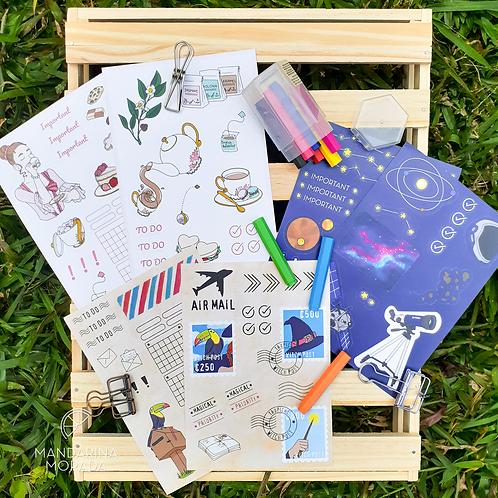 BUJO Sticker Sheets