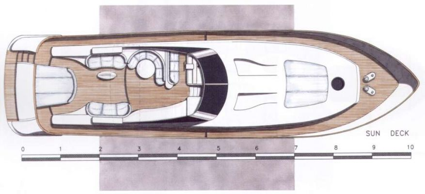 Upped deck plan